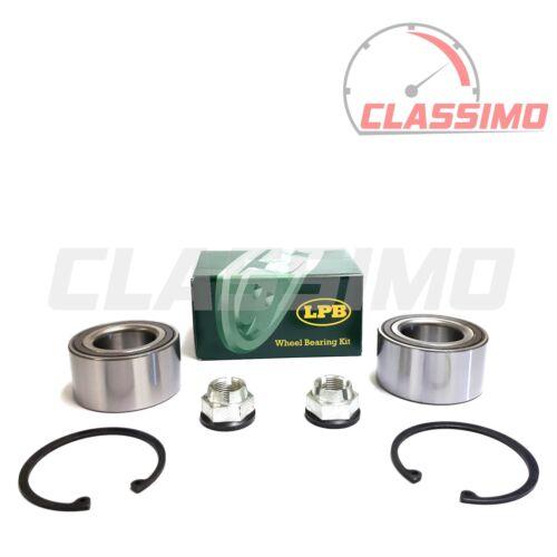 Front Wheel Bearing Kit Pair for RENAULT MEGANE Mk 2-1.9DCi 2002 to 2009