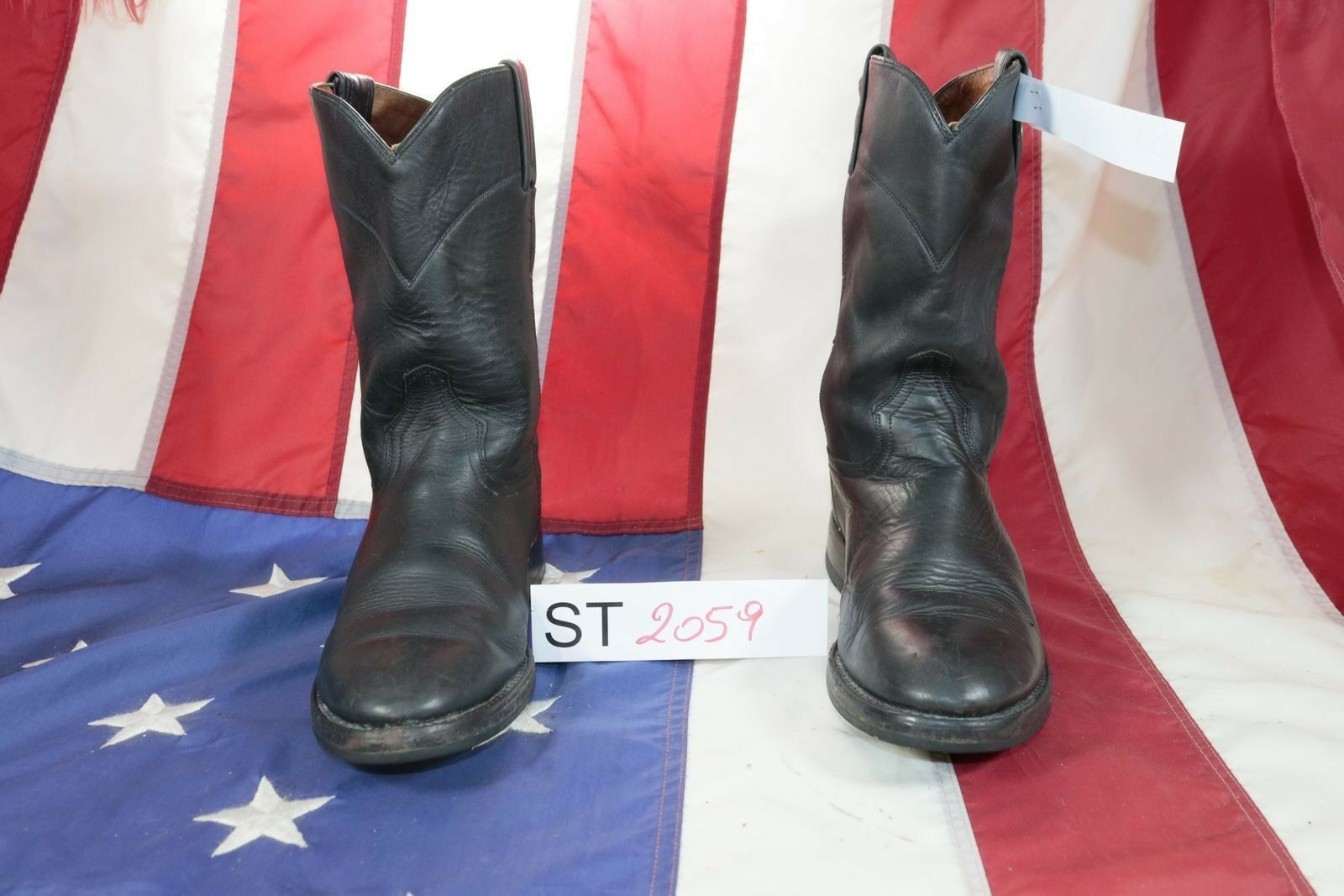 Boots Marlbgold Classic ( Cod. St2059) Used N.41 Mens Black Leather Cowboy Bike