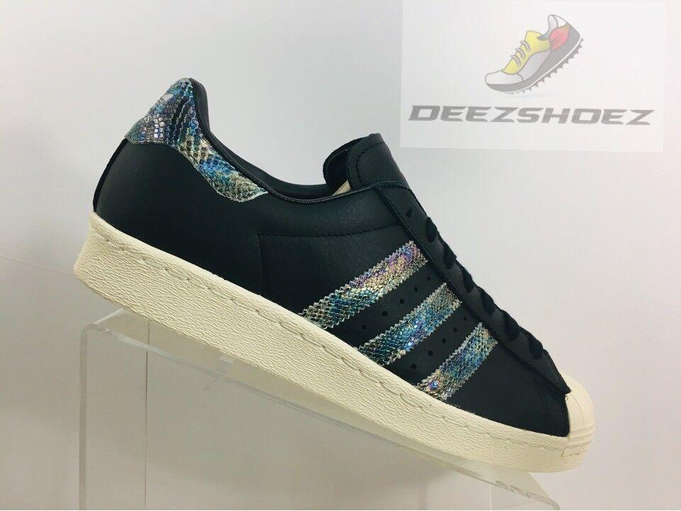Adidas superstar degli anni ottanta originali nero di pelle bianca, mens bz0147 noi   41 | Folle Prezzo  | Sig/Sig Ra Scarpa