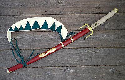 New Anime Samurai Champloo Mugen's Typhoon Swell Katana Sword GEN II