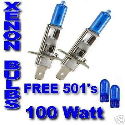 Honda Civic 06-/& Sport Vtec ULTRA XENON bulbs H1 100w