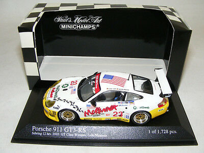 1/43 Minichamps Porsche 911 GT3 RS Alex job from 2003 Class Winner 12 Sebring