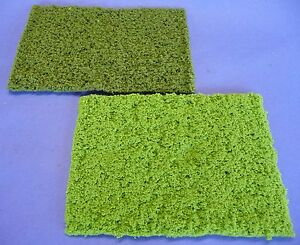 2-piece-Jordan-grasmatten-terrain-nattes-dans-Hell-amp-vert-fonce-taille-15x25cm-752e