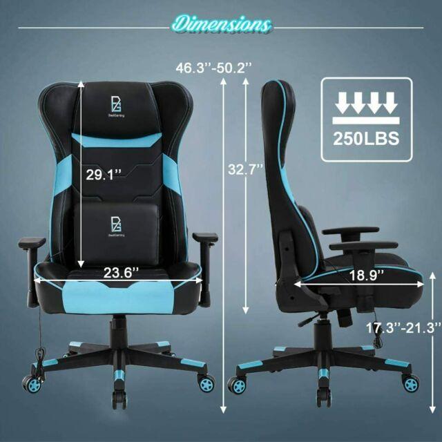 IKEA ALRIK Swivel chair and adjustable blue