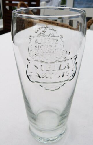 STELLA ARTOIS PINT GLASS UK IRELAND IMMACULATE