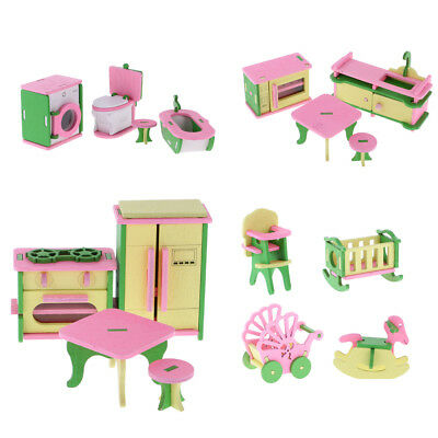 Miniature Dollhouse Accessories Scene Model Mini Mirror PLf