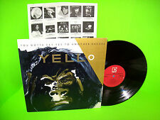 Yello – You Gotta Say Yes To Another Excess 1983 Vintage Vinyl LP Record Synth
