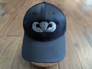 9af0ba39a Details about U.S MILITARY ARMY PARATROOPER JUMP WINGS HAT EMBROIDERED BALL  CAP