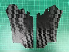 Ford Focus RS MK2 Carbon 3D Wrapped Slam Panel covers (2 pc)