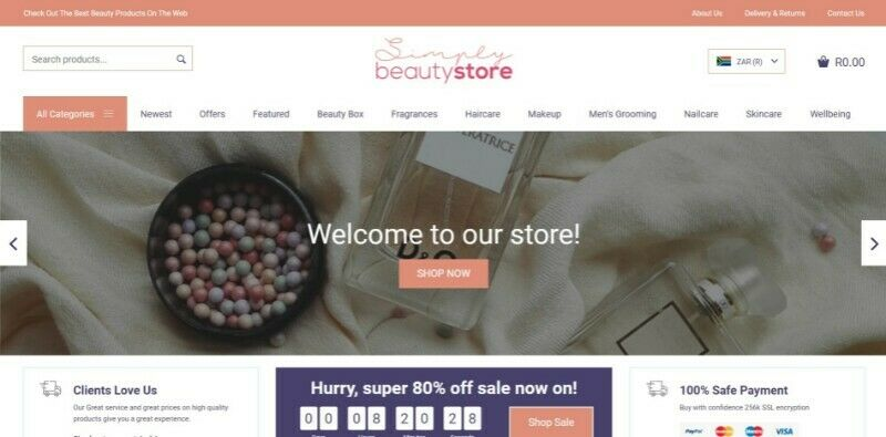 Beauty Store for Sale