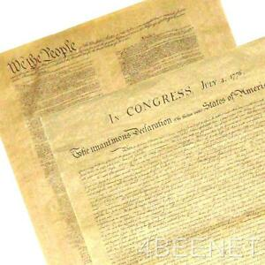 2-BIG-POSTERS-replica-DECLARATION-OF-INDEPENDENCE-U-S-CONSTITUTION-print