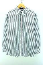 283ff7e0aea GANT Men's Button Down Shirt Size L Striped Poplin Oxford Cotton Shirt  CD1226