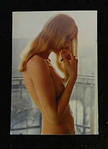 VINTAGE 1960s NUDE RISQUE POSTCARD KRUGER CO