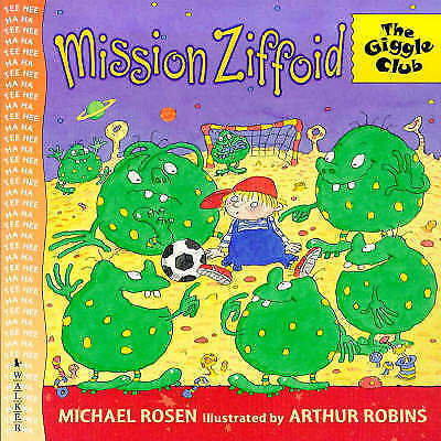 """""""VERY GOOD"""" Rosen, Michael, Mission Ziffoid (Giggle Club), Book"""