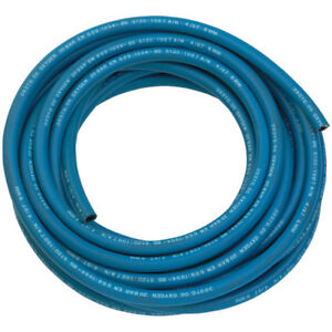 """GWH-3//8-100B succión//Compresor//rubbe 3//8/"""" Azul Soldadura por gas de Oxígeno Manguera 100MTR"""
