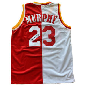 Calvin-Murphy-signed-jersey-NBA-Houston-Rockets-PSA-COA-Niagra-University