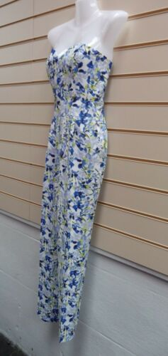 Darling London Jumpsuit Floral Size 8,10,12 16 Print Detail sleeveless BNWT G010