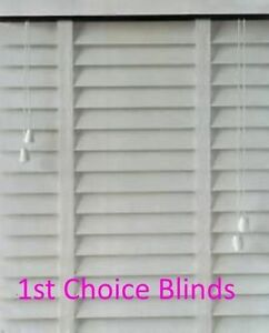 Made To Measure Faux Wood Ripple Effect Venetian Blind