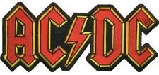 "AC/DC RIESEN AUFBÜGLER / EMBROIDERY PATCH # 45 ""LOGO"""