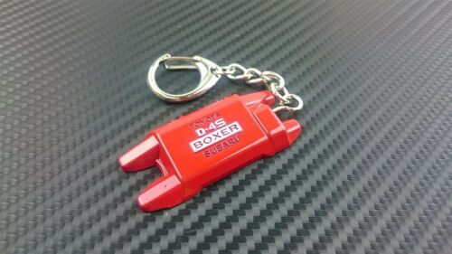 Phase 2  Metal Valve Cover Keychain for Toyota GT86 Subaru BRZ D-4S Black Red