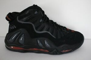 f595ae801b4a Nike Air Max Uptempo 97 Retro Men s Sz 9.5 Basketball Shoes Black ...