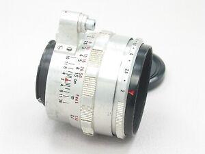 Carl Zeiss Jena Biotar Lens 58mm f/2 for Exakta10 blades 160