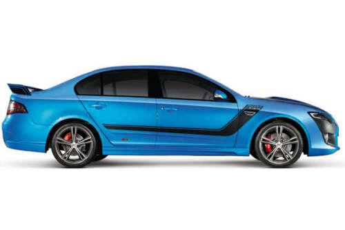 Ford Falcon Side Stripe Bonnet Car Decal Sticker Kit SUIT FG XR6 XR8 boss