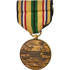 [#416057] United-States, Southern Asia Service, Medal, Excellent Quality