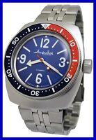 AMPHIBIA 200m VOSTOK AUTOMATIK MECHANISCHE UHR ! Kundenspezifische Uhr! 18c De