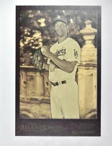 2017-Topps-Allen-and-Ginter-Box-Toppers-BLCK-Clayton-Kershaw-NM-MT