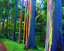 200Pcs Rainbow Eucalyptus Tree Seeds  Rare Kind Perennial Decor In Forest