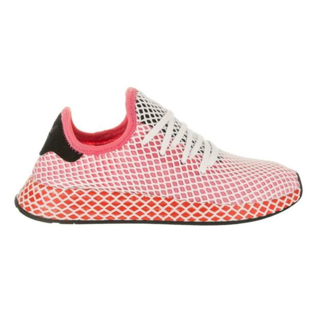 Womens ADIDAS DEERUPT RUNNER W Pink Trainers CQ2910