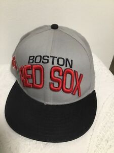 Details about BOSTON RED SOX HAT MLB CAP NEW ERA 9FIFTY MEDIUM-LARGE  SNAPBACK BASEBALL TEAM 5e037f08892