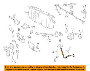 Fine Ford Oem Fuel Gas Tank Support Strap 9W7Z9092A Ebay Wiring Cloud Rectuggs Outletorg
