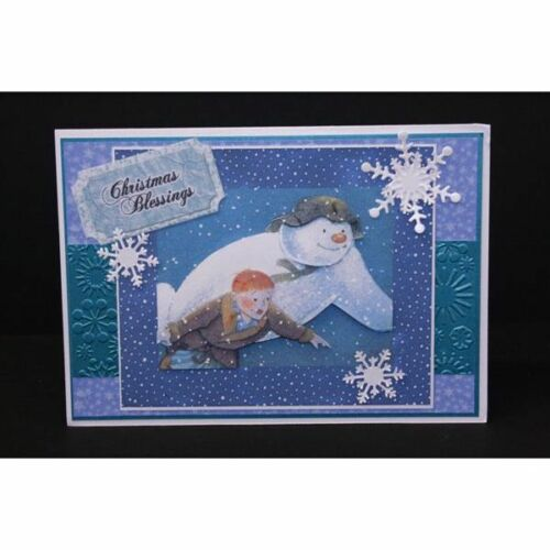 Crafters Companion THE SNOWMAN Papercrafting CD ROM MD820 Raymond Briggs