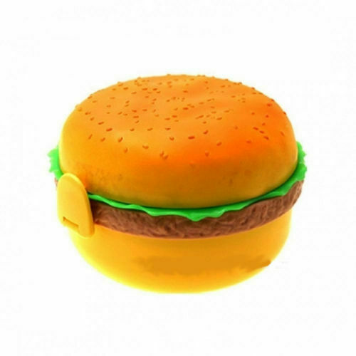 Vesperdose Burger Lunch Box Brotdose