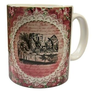 Alice-in-Wonderland-Mug-The-Tea-Party-Mug-Alice-in-Wonderland-Gift