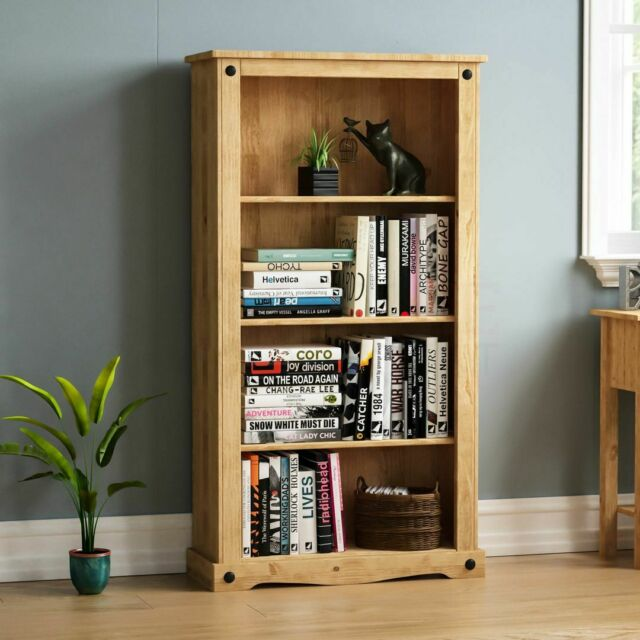 Living Room Furniture CORONA Open bookcase in mexican style ...