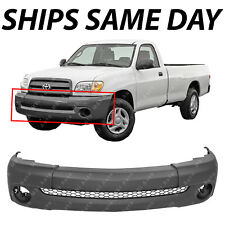 Crash Parts Plus Primed Front Bumper Cover Replacement for 2000-2006 Toyota Tundra