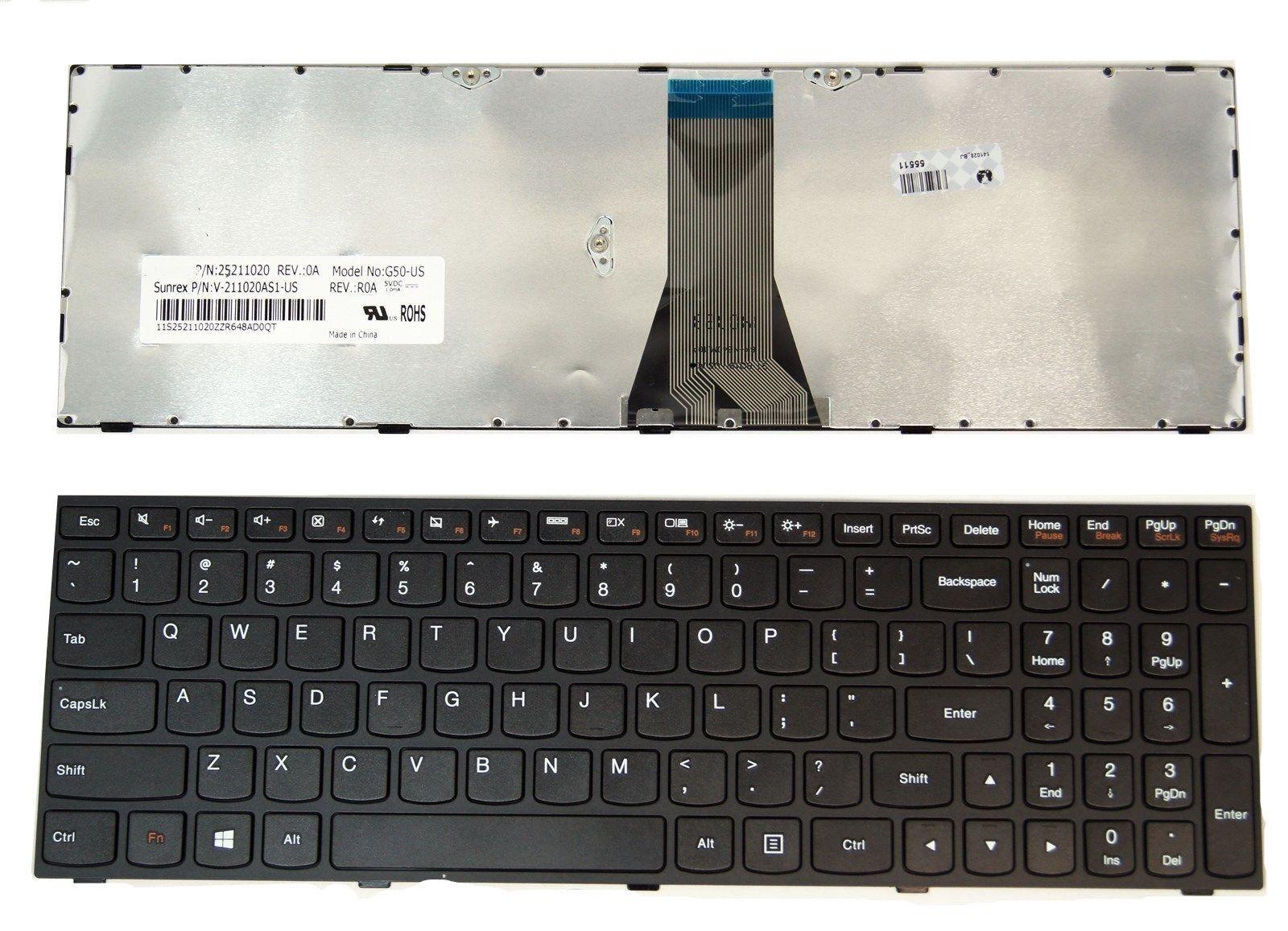 OEM Lenovo B50-30 G50-30 G50-45 G50-70 G50-80 Z50-70 Keyboard 25214785 Grade A