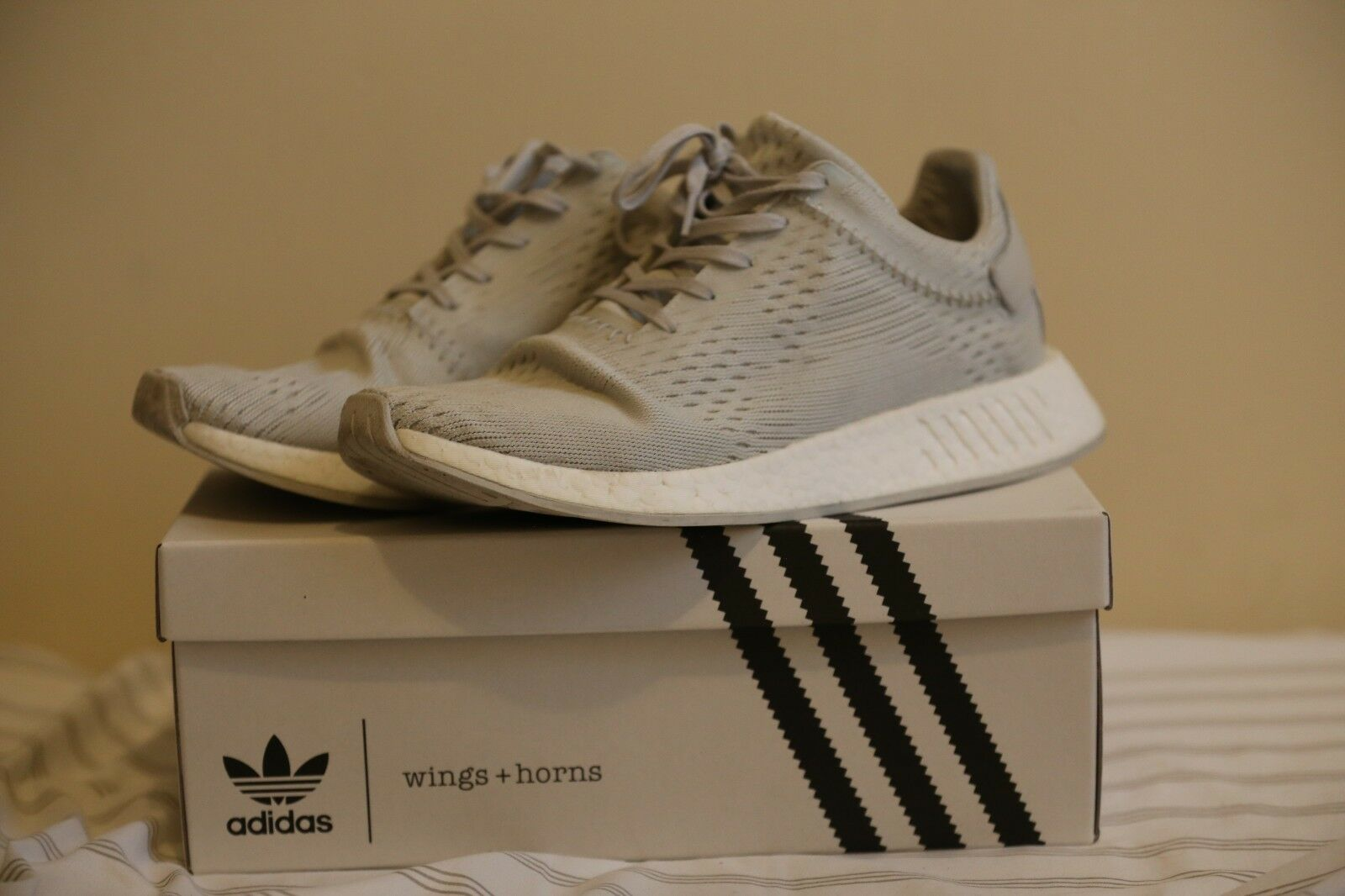 c3cd8205d adidas NMD R2 Wings Horns Primeknit Hint Bb3118 10.5 for sale online ...