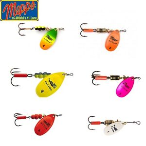 Mepps-Aglia-Fluo-Spinner-Fishing-Lure-2-5-13-g-Various-Colours