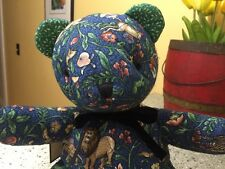 Vera Bradley Retired Rare Noah Animal Kingdom Quilted Cotton Bear New 1 Tag