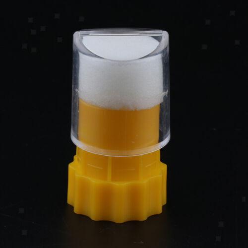 Queen Bee Marking Bottle Cage with Sponge Plunger Beekeeping Equipments Tool