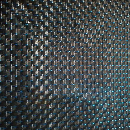 Fibra de carbono metálico y azul reflexión mixta Tela 250gsm Carbono Paño 50*100cm
