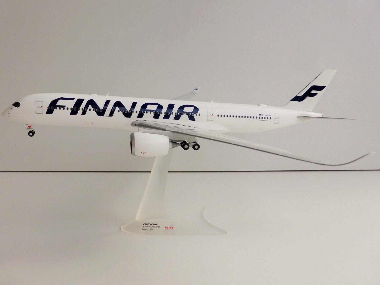 comprare a buon mercato Finnair Airautobus A350 Xwb 1 200 200 200 Herpa 557511 a 350 A350-900 Oh-Lwa  in vendita online