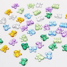 50pcs mix color Butterfly design acrylic Art Rhinestones 21011014(10HS50)