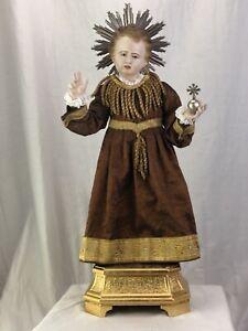 Bambino-Di-Praga-Bambinello-Gesu-Cristo-53-Cm-Ihs-Jesus-Bambinello