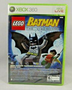 LEGO-Batman-The-Video-Game-Pure-Microsoft-Xbox-360-2009-New-sealed
