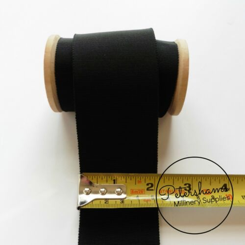 50mm No.16 Millinery Petersham Hat Ribbon 1m